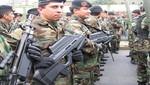 Se oficializa pago de bonificación extraordinaria a miembros de las Fuerzas Armadas y de la Policía Nacional