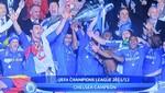 Champions League: Vea las imágenes del campeonato del Chelsea