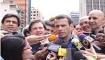 Henrique Capriles sobre el petróleo: 'Si soy elegido presidente seguirá siendo de Venezuela'