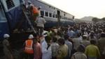 Choque de trenes en India deja 25 muertos