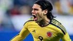 Radamel Falcao sufrió lesión y se perdería el duelo ante Perú