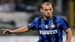 Wesley Sneijder daría el 'campanazo' fichando por el AC Milan