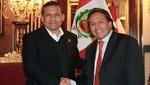 Presidente Ollanta Humala se reúne con Alejandro Toledo