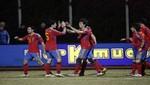 España e Inglaterra ganan sus encuentros amistosos