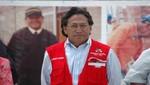 Alejandro Toledo: 'Ollanta Humala cuenta con nuestro respaldo absoluto en políticas de Estado'