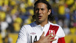 Selección peruana: Claudio Pizarro no jugará ante Colombia ni Uruguay