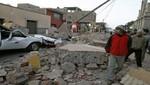 Perú ha sido remecido por 83 temblores en lo que va del 2012