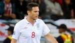 Confirmado: Frank Lampard quedó fuera de la Eurocopa 2012 por lesión
