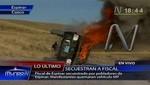 Fiscal Herrera: Casi me queman vivo en Espinar