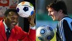 Pelé: Lionel Messi es mejor que Cristiano Ronaldo