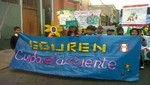 Escolares desfilaron en Barranco por el Día Mundial del Medio Ambiente