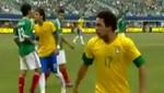 [VIDEO] Neymar escupió a un rival en partido amistoso