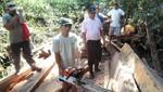 Logran recuperar madera talada ilegalmente en el Parque Nacional del Manu