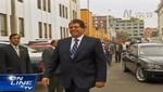 (Video) Vea la sonrisa con la que Alan García acudió a la Megacomisión