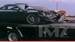 Lindsay Lohan sufrió grave accidente automovilístico