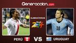 Final del partido: Uruguay 4-2 Perú