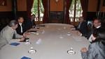 Ollanta Humala se reunió con equipo jurídico ante La Haya