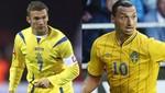 Eurocopa 2012: Ucrania enfrenta a Suecia por el Grupo D