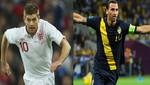 Eurocopa 2012: Inglaterra venció 3-2 a Suecia y está cerca de los cuartos de final