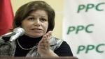 Lourdes Flores le bajó el pulgar al premier Óscar Valdés