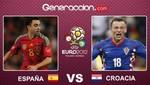 Eurocopa 2012: España quiere asegurar su clasificación ante Croacia