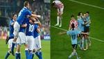 [FOTOS] Eurocopa 2012: Disfrute de las mejores imágenes de los triunfos de España e Italia