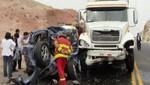 Panamericana Norte: Tres ingenieros mueren en accidente