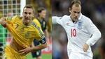 Eurocopa 2012: Conozca las alineaciones del encuentro entre Ucrania vs. Inglaterra
