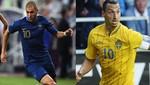 Eurocopa 2012: Conozca las alineaciones del encuentro entre Francia vs. Suecia