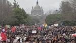 Chile: 3 mil estudiantes protestan en las calles de Santiago