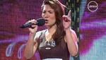 [VIDEO] YO SOY: Christina Aguilera peruana pasó a la siguiente etapa del concurso