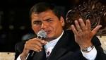 Rafael Correa por caso Julian Assange: hay que ver si hay peligro de muerte