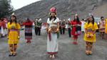 Escolares celebraron Inti Raymi en Puruchuco