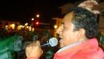 Gregorio Santos a presidente Humala: Conga seguirá siendo inviable