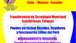 Tercer Encuentro Municipal Ecuatoriano Peruano