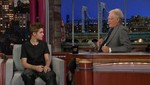 [VIDEO] Justin Bieber se pelea con David Letterman sobre un tatuaje