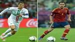 [FOTOS Y VIDEO] Eurocopa 2012: Xavi y Cristiano Ronaldo se verán las caras en el duelo de hoy