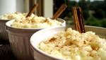 Ñutos, arroz con leche y mazamorras