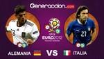 Eurocopa 2012: Italia y Alemania disputan hoy la última semifinal del torneo