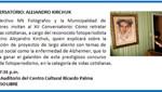Agenda Cultural de Municipalidad de Miraflores: Conversatorio, Alejandro Kirchuk