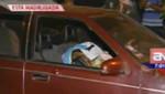 [VIDEO] Asesinan a balazos a sujeto dentro de su auto