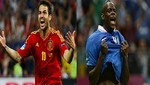 [FOTOS Y VIDEO] Eurocopa 2012: Cesc Fbregas y Mario Balotelli se vern las caras en la gran final de hoy