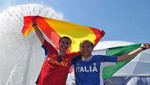 [FOTOS] Eurocopa 2012: Hinchas espaoles e italianos ya viven la gran final