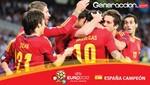 España es el campeón de la Eurocopa 2012