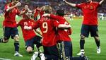 España logra la mayor goleada en las finales de la Eurocopa