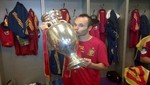 Andrs Iniesta comparte foto en Twitter