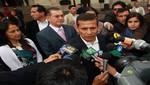 Presidente Humala a opositores violentos de Conga: aténganse a las consecuencias