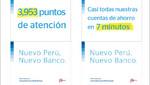 BBVA Continental abre cuentas de ahorros en sólo 7 minutos