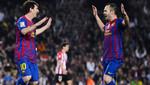 Andrés Iniesta: Messi debe llevarse nuevamente el Balón de Oro