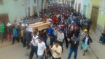 [VIDEO] Ataúd de quinto fallecido recorrió las calles de Cajamarca